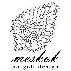 Meskok – horgolt design -