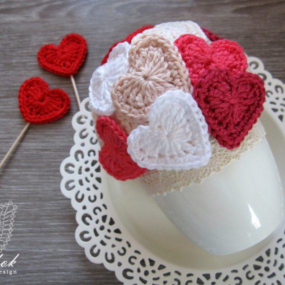 ♡ Valentin napi szíves kaspó